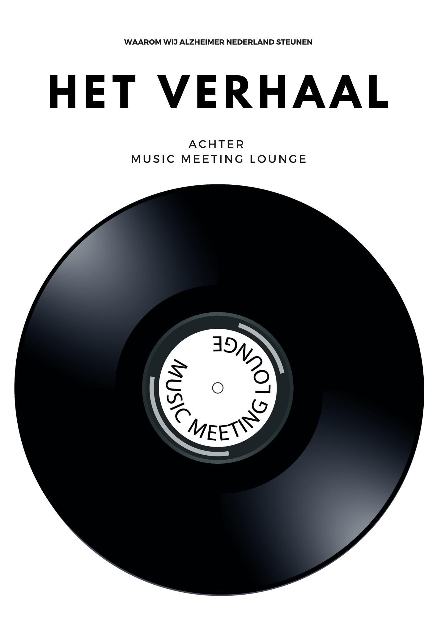 Het verhaal achter Music Meeting Lounge - Waarom wij Alzheimer Nederland steunen