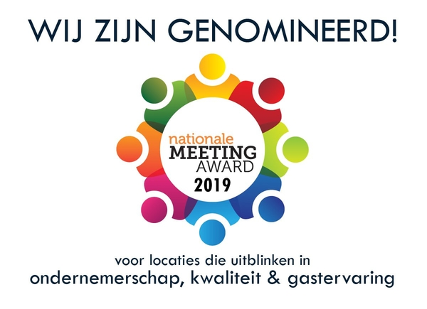 Genomineerd - Nationale Meeting Award